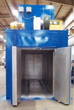 Batch Oven for Aerospace Industry