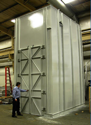 Curing Oven for Epoxy High Voltage Power Transmission Components
