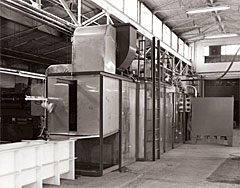 Gas-Fired Monorail Curing Oven
