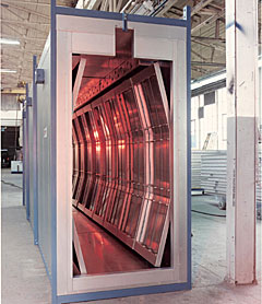 Industrial Conveyor Infrared Ovens Infratrol